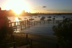 Magnificent views from Murray Rose Pool (aka Redleaf)